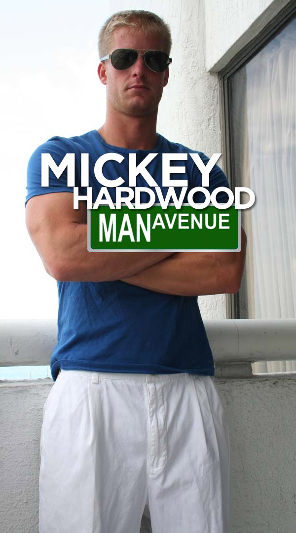 Mickey Hardwood at ManAvenue