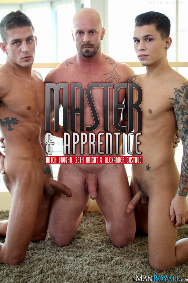 Master & Apprentice (Mitch Vaughn, Seth Knight & Alexander Gustavo) at ManRoyale