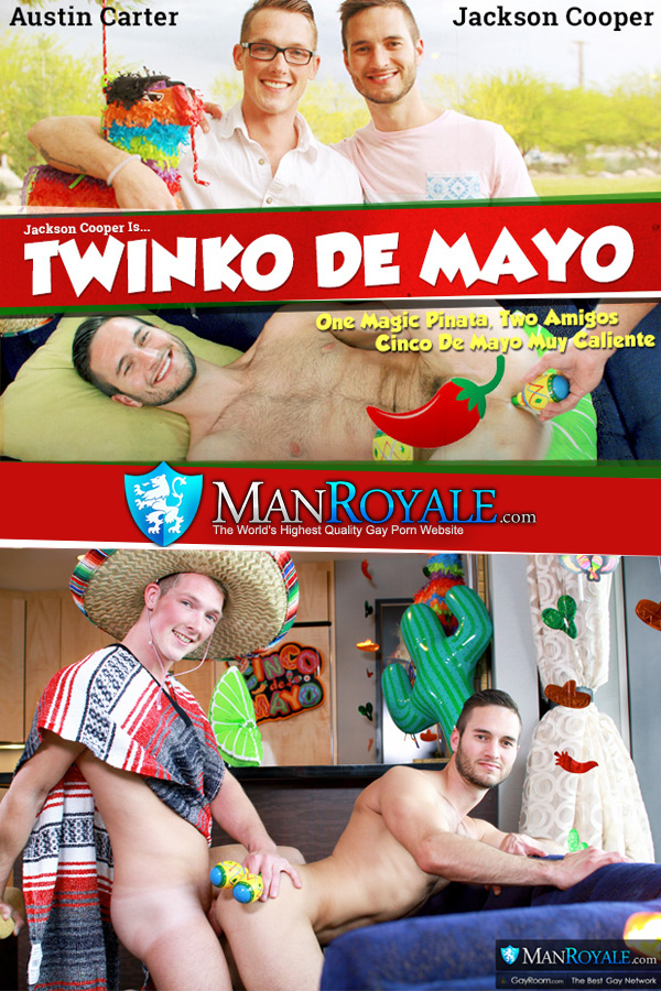 Twinko de Mayo (Jackson Cooper & Austin Carter) at ManRoyale