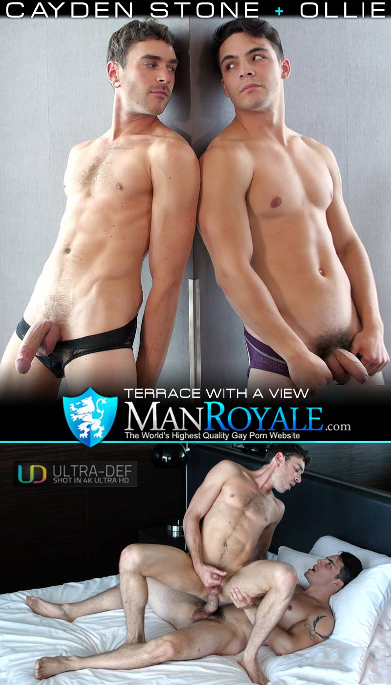 Terrace With A View (Ollie Fucks Cayden Stone) at ManRoyale