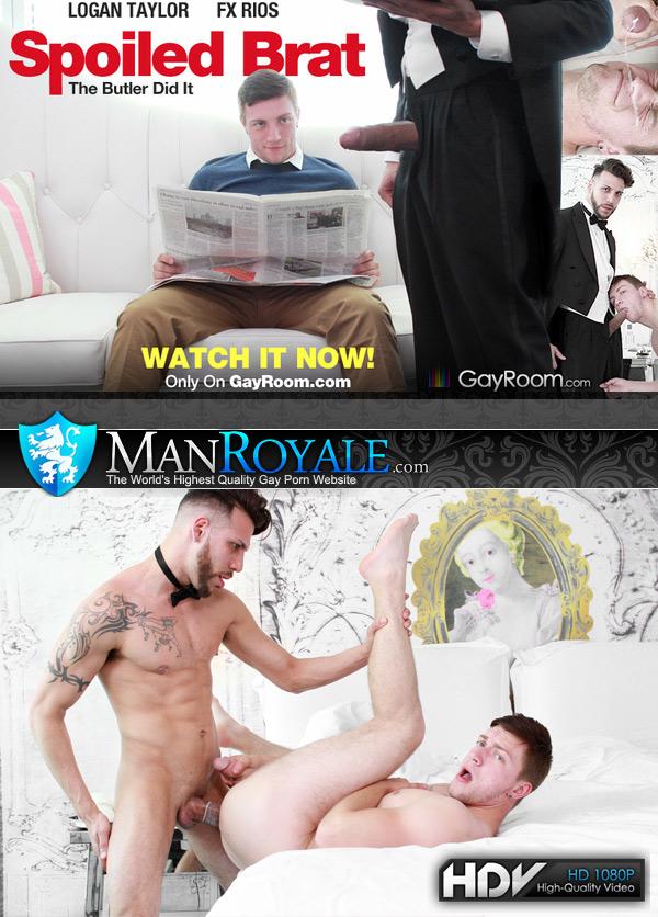 Spoiled Brat (FX Rios Fucks Logan Taylor) at ManRoyale