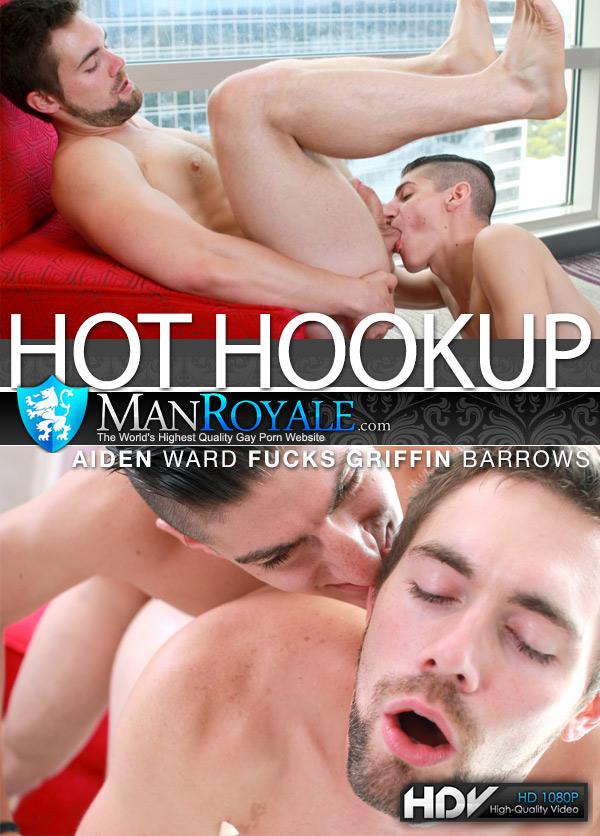 Hot Hookup (Aiden Ward Fucks Griffin Barrows) at ManRoyale