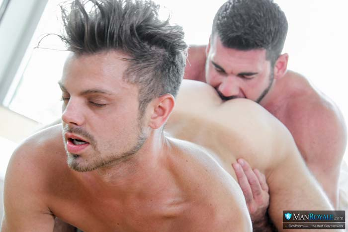 Fuck A Pornstar (Billy Santoro & Christian Taylor) (Part 2) at ManRoyale