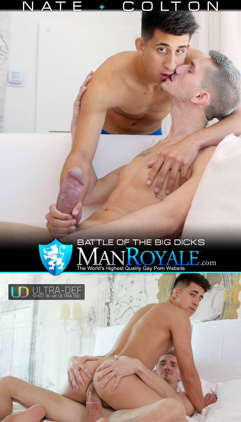 Battle of the Big Dicks (Nate & Colton Andrews) at ManRoyale