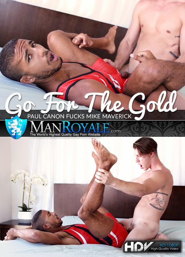 Go For The Gold (Paul Canon Fucks Mike Maverick) at ManRoyale