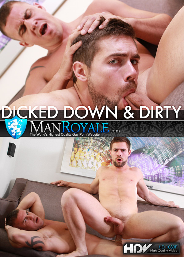 Dicked Down & Dirty (Darin Silvers Fucks Griffin Barrows) at ManRoyale