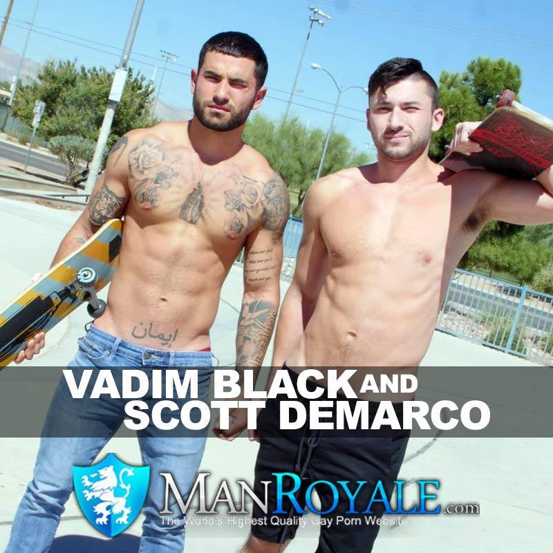 Vadim Black To Return In A GayRoom Scene With Scott Demarco