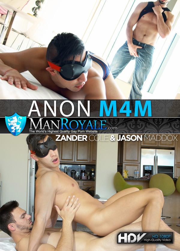 Anon M4M (Jason Maddox Fucks Zander Cole) at ManRoyale