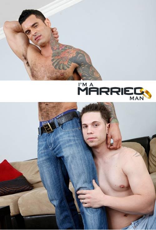 Alexsander Freitas & Kevin Cavallie at I'm A Married Man