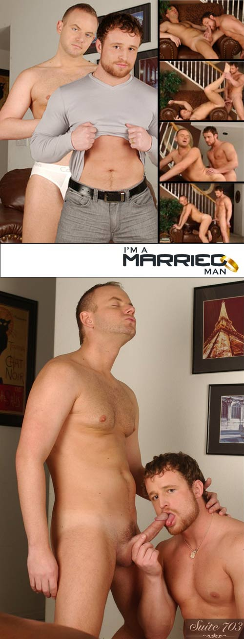 Nash Lawler & Robbie Ireland at I'm A Married Man