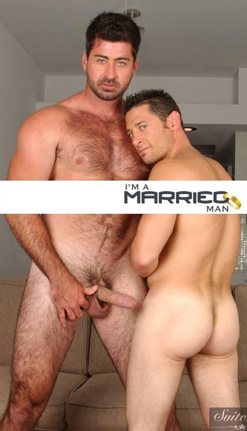 Ari Silvio and Berke Banks at I'm A Married Man