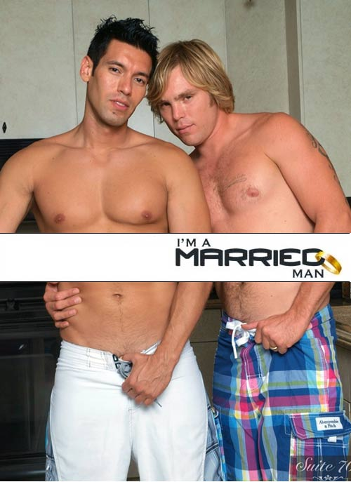 Alexander Garrett & Bobby Rail at I'm A Married Man