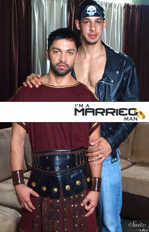 Dominic Pacifico & Tony Douglas at I'm A Married Man