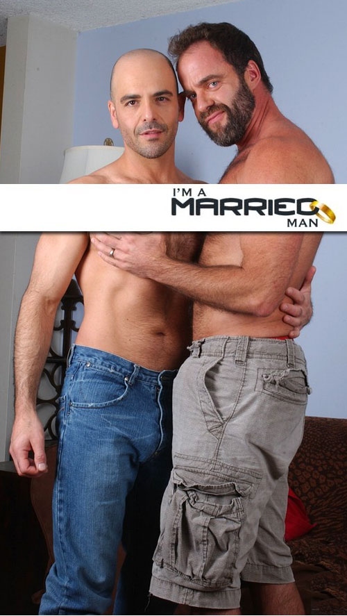 Adam Russo & Dodger Wolf at I'm A Married Man