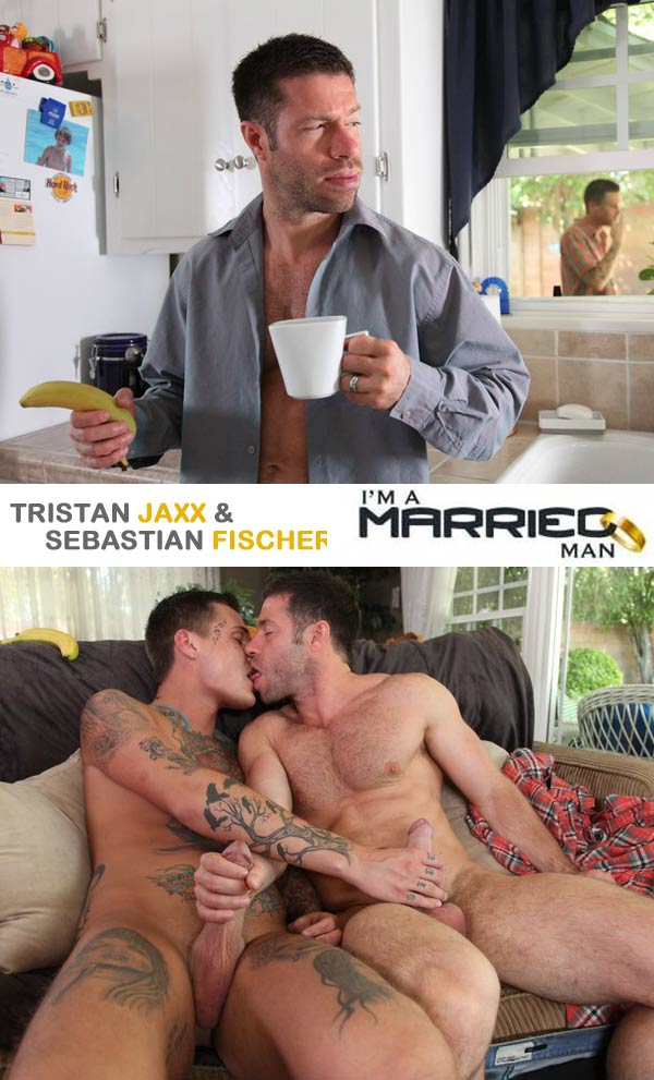 Sebastian Fischer & Tristan Jaxx at I'm A Married Man