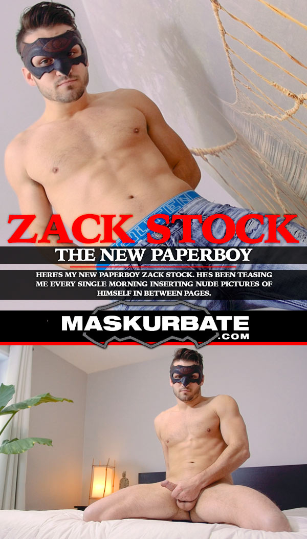 The New Paperboy (with Zack Stock) at Maskurbate