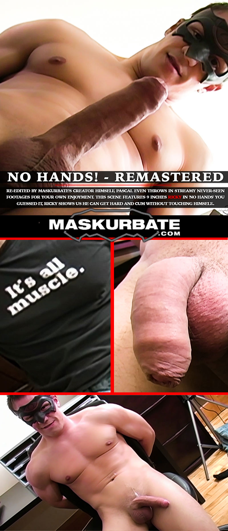 No-Hands! Remastered at Maskurbate