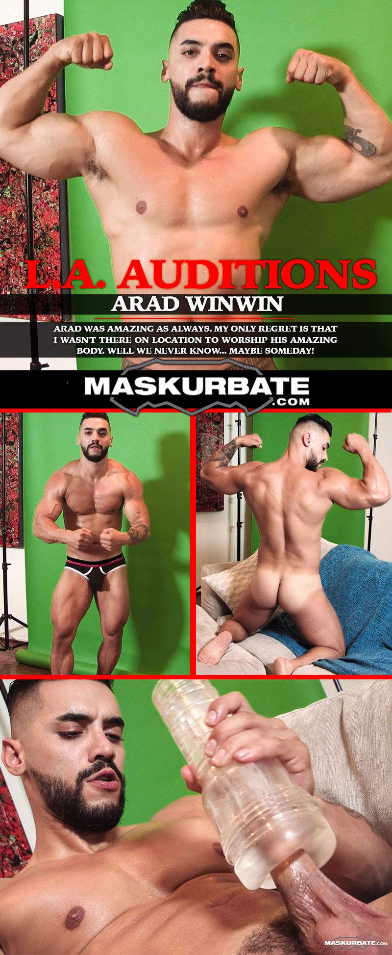 L.A. Auditions (feat Arad Winwin) at Maskurbate