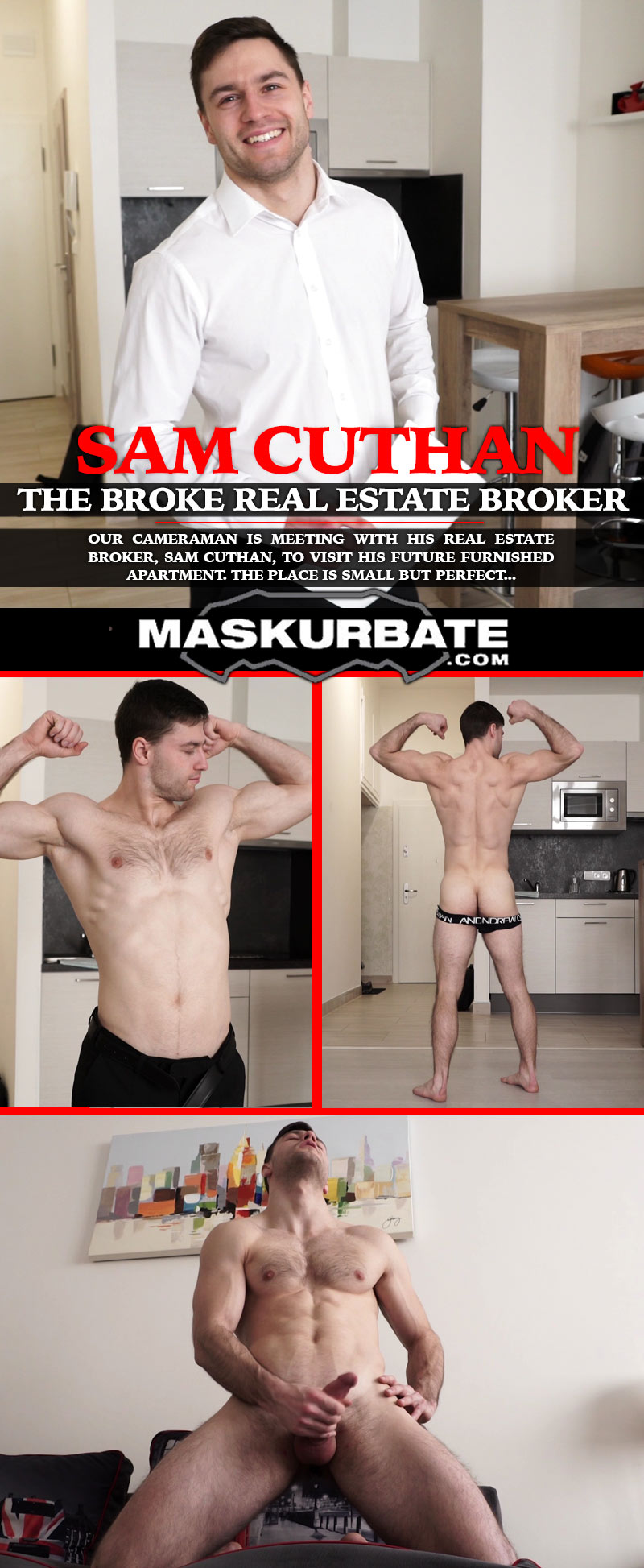 The Broke Real Estate Broker (feat. Sam Cuthan) at Maskurbate
