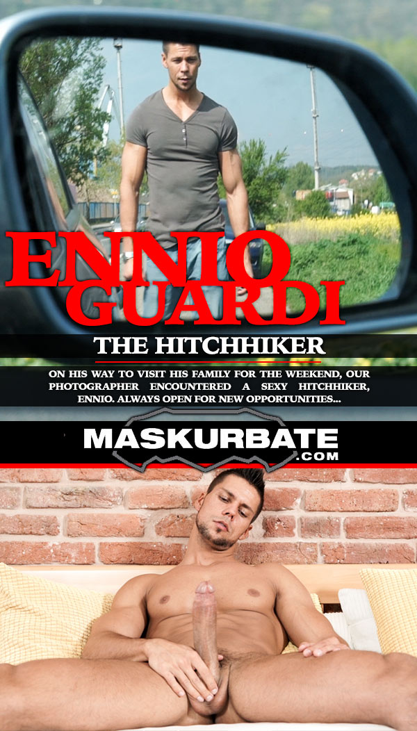 The Hitchhiker (with Ennio Guardi) at Maskurbate