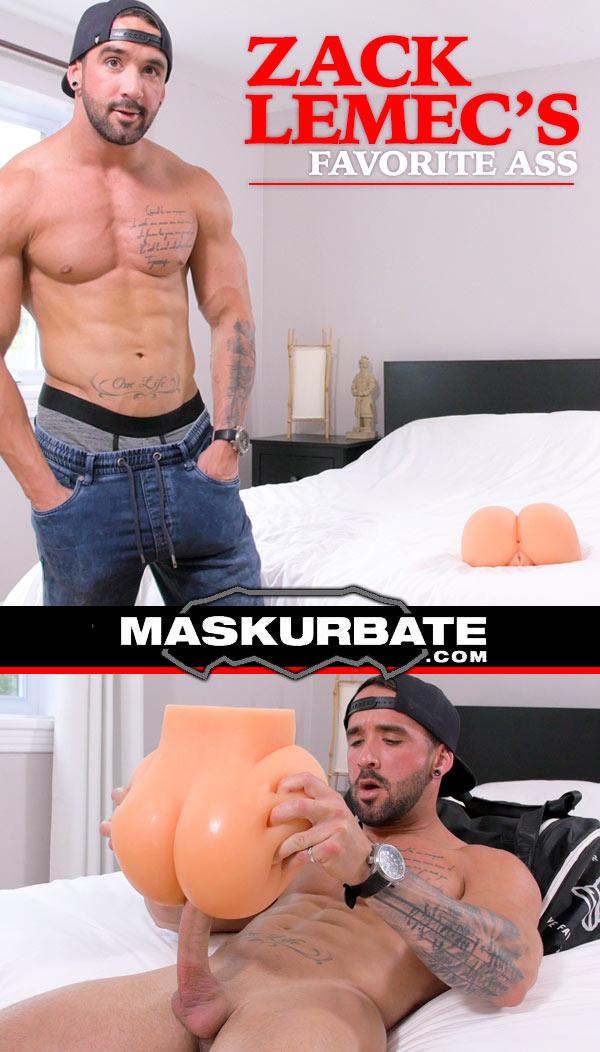 Zack Lemec's Favorite Ass at Maskurbate