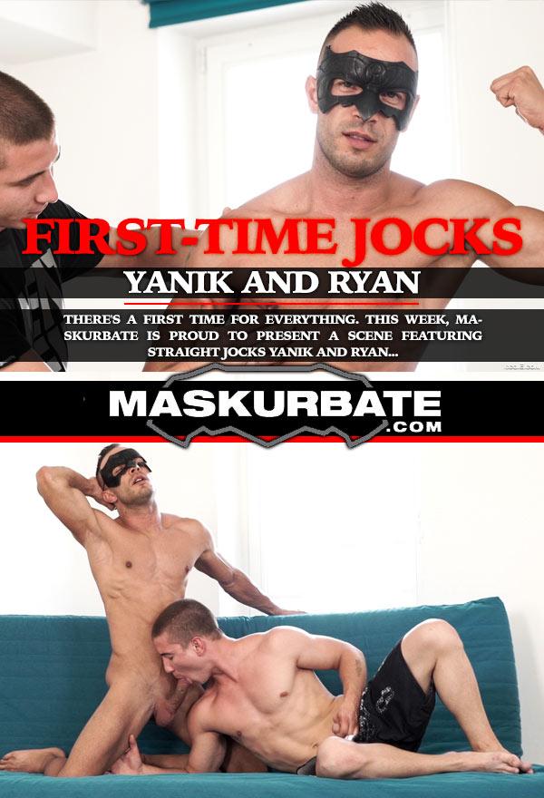 First-Time Jocks (Yanik & Ryan) at Maskurbate