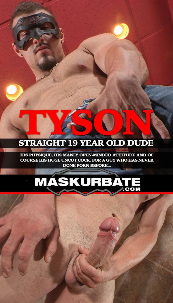 Tyson at Maskurbate
