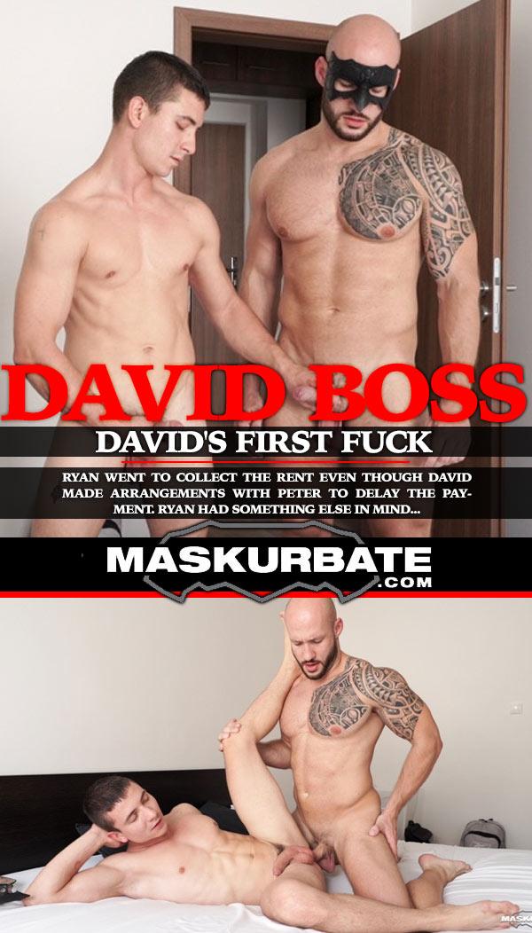 David Boss's First Fuck at Maskurbate