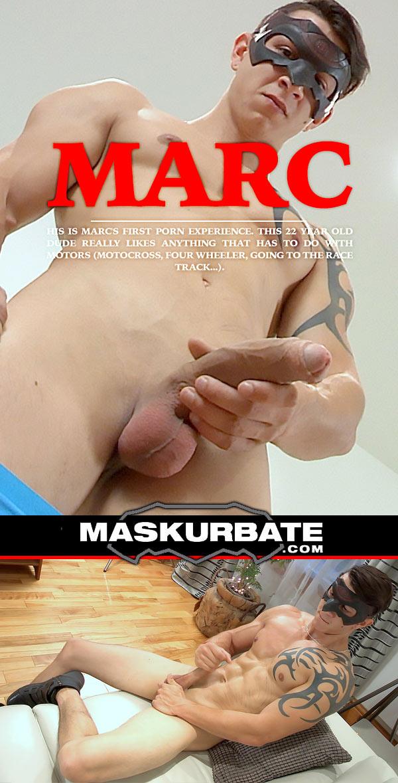 Marc at Maskurbate