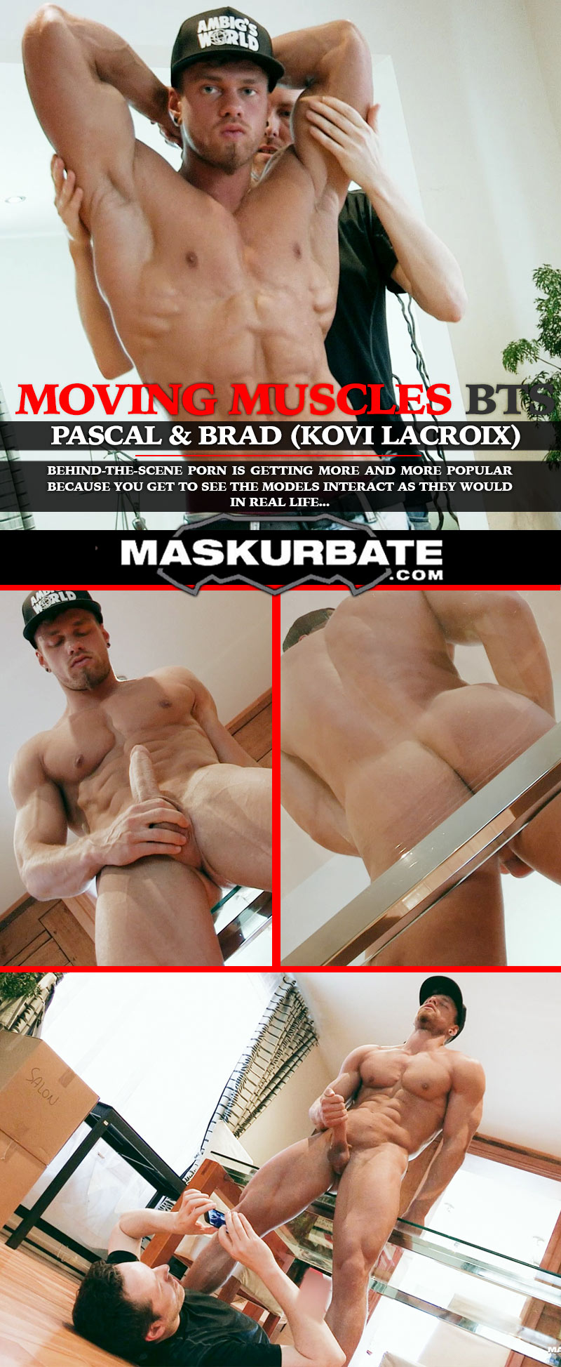 Moving Muscles BTS (Brad & Pascal) at Maskurbate