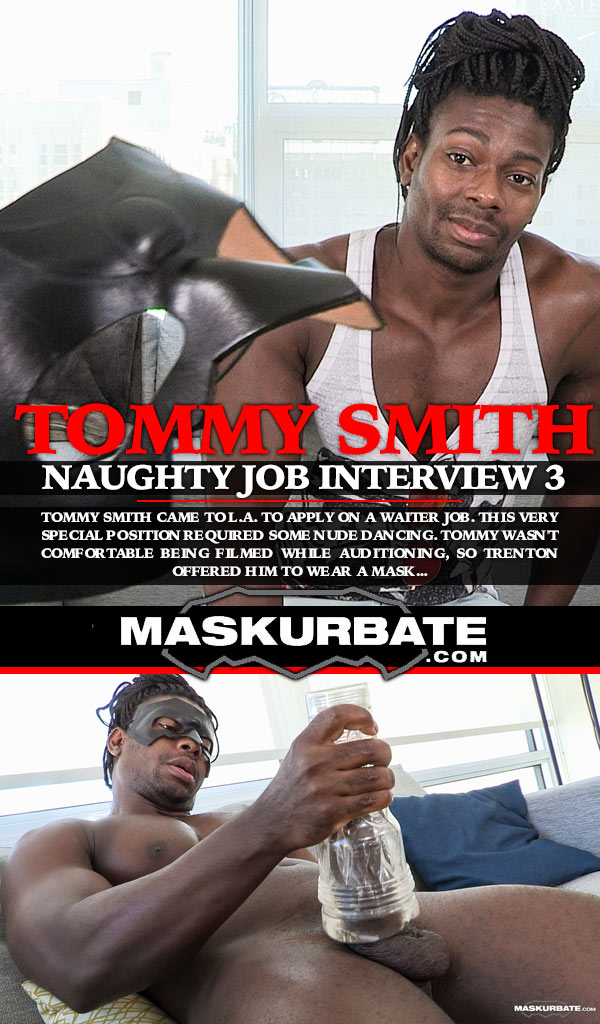 Naughty Job Interview 3 (Tommy Smith and Trenton Ducati) at Maskurbate