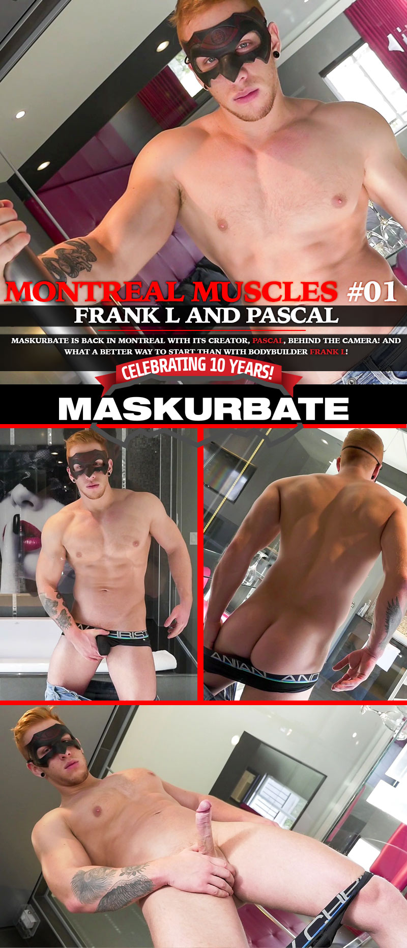 MONTREAL MUSCLES, Scene 1 at Maskurbate