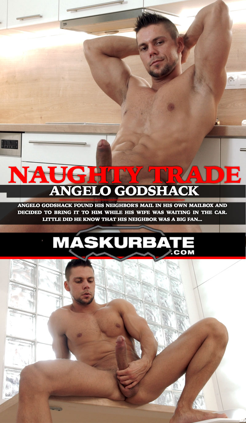 Naughty Trade (with Angelo Godshack) at Maskurbate