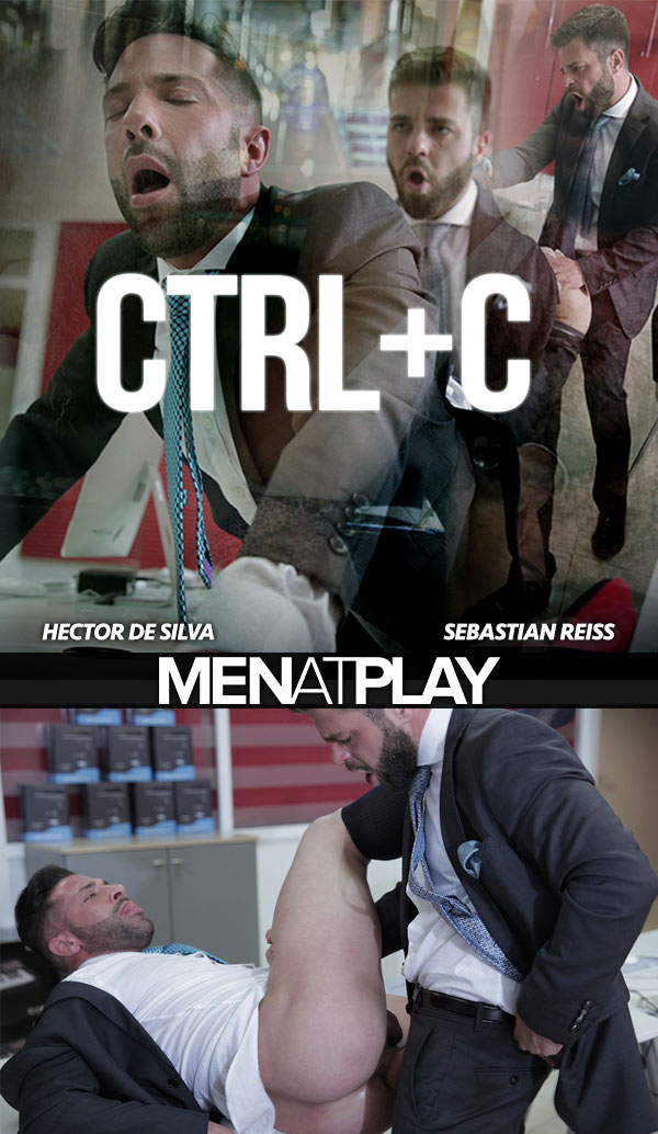 CTRL+C (Hector de Silva Fucks Sebastian Reiss) on MenAtPlay