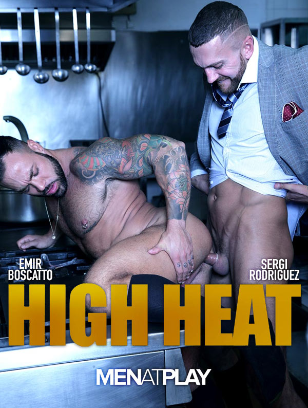 High Heat (Emir Boscatto Fucks Sergi Rodriguez) on MenAtPlay
