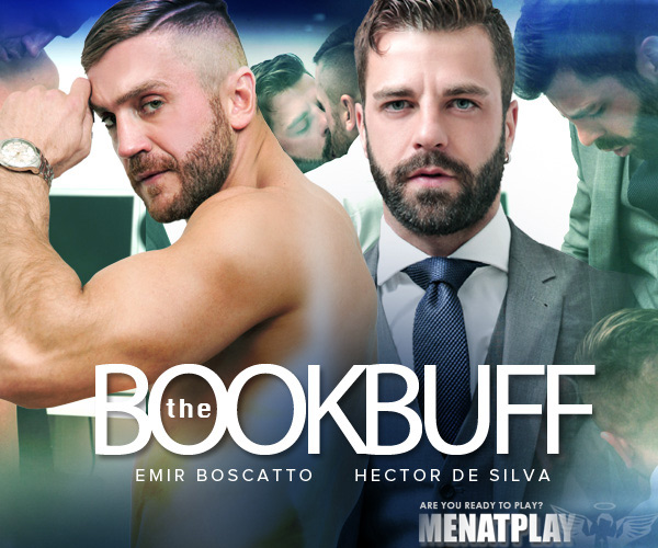 The Book Buff (Hector de Silva Fucks Emir Boscatto) on MenAtPlay