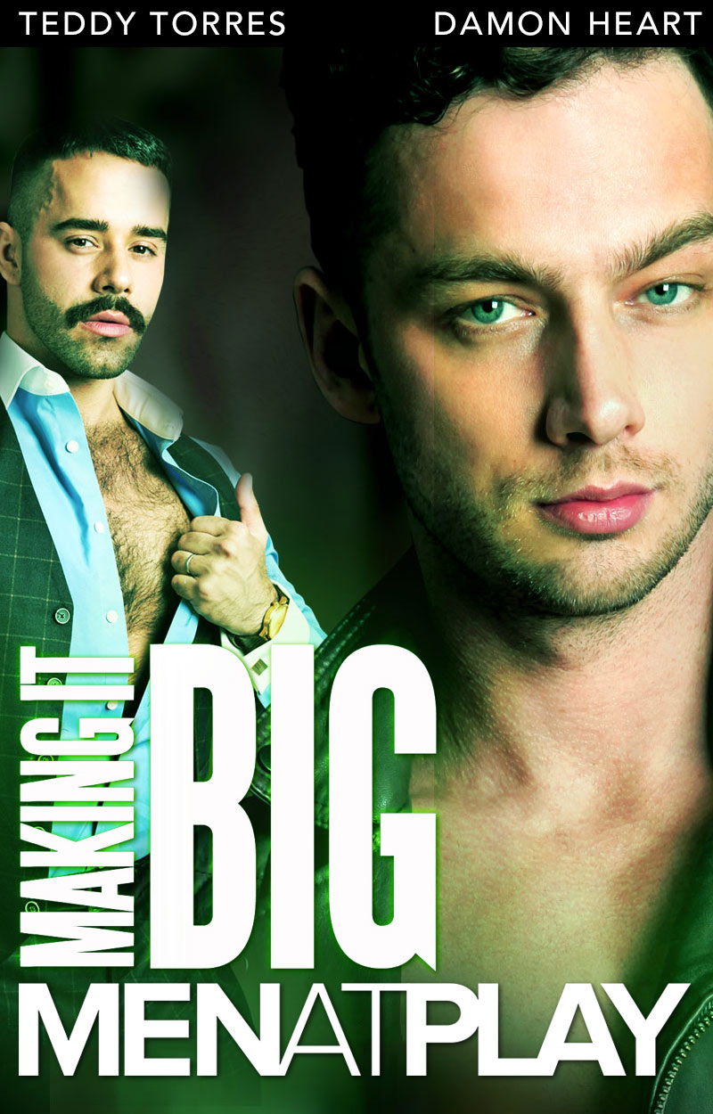 Making It BIG: The Agent (starring Damon Heart and Teddy Torres) on MenAtPlay