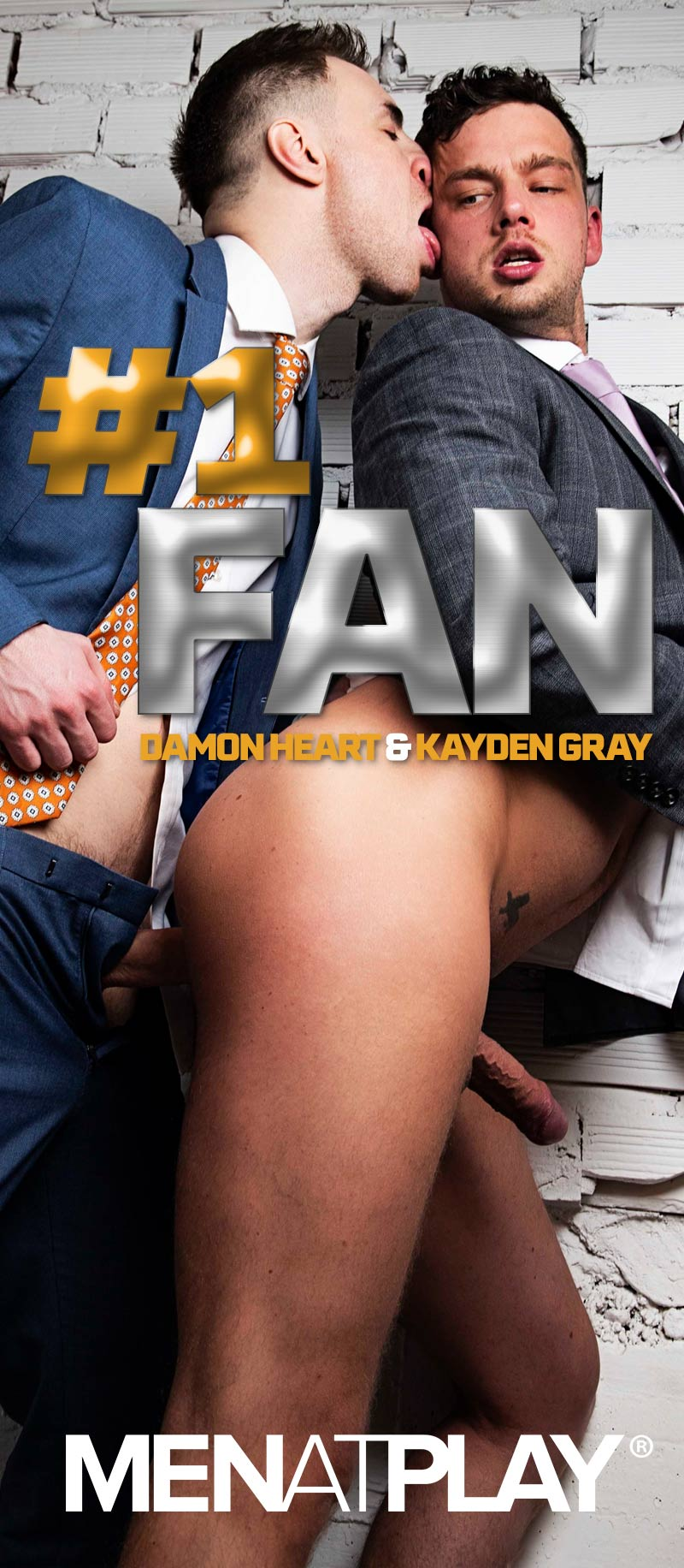 #1 FAN (Kayden Gray Fucks Damon Heart) on MenAtPlay