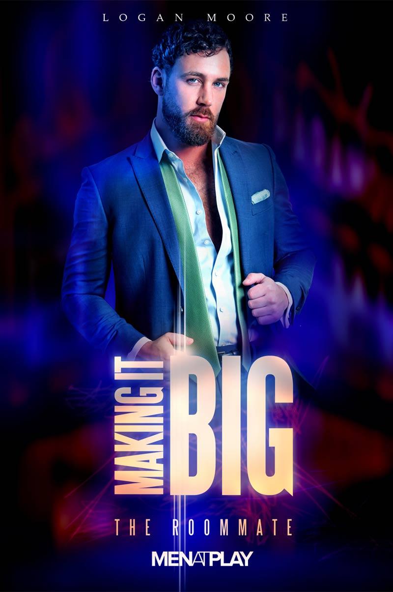 Making It BIG: The Roommate (Logan Moore Fucks Damon Heart) on MenAtPlay