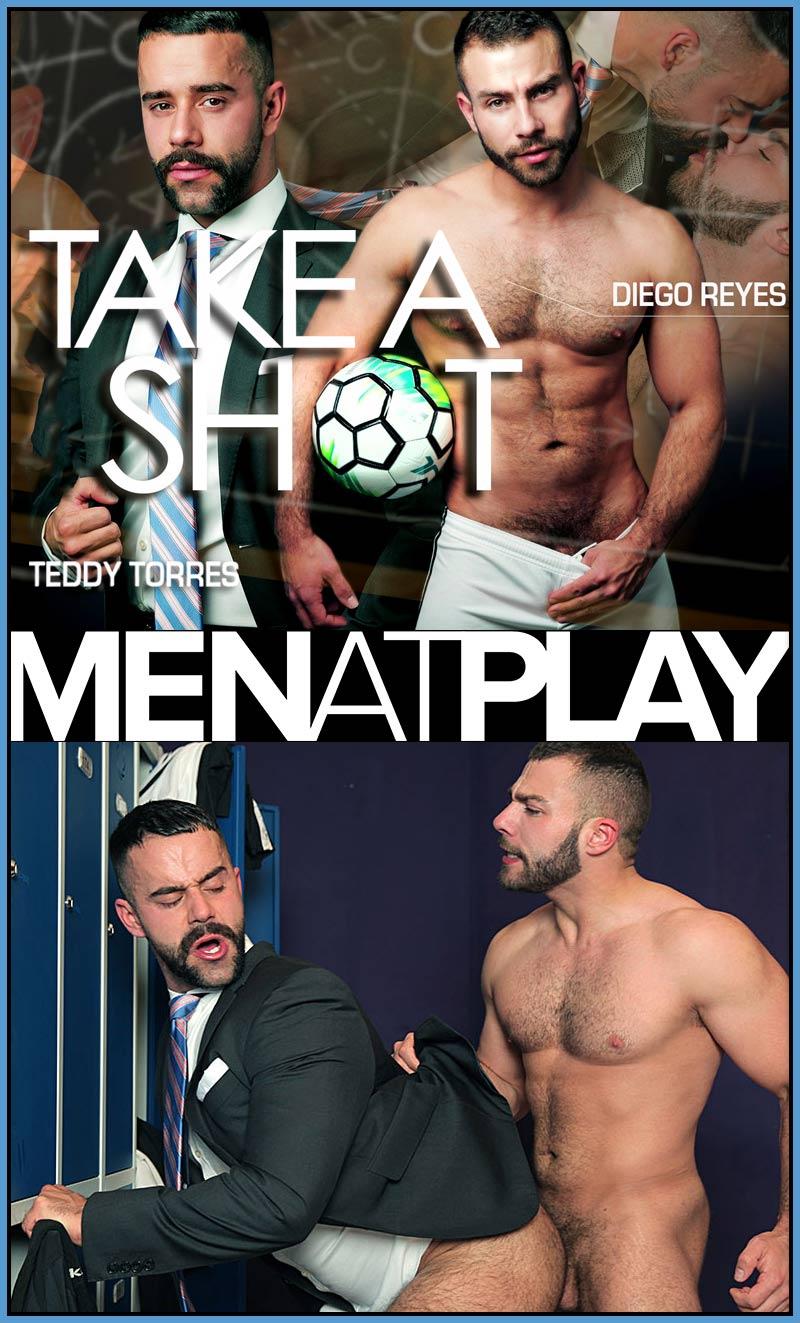 Take A Shot (Diego Reyes Fucks Teddy Torres) on MenAtPlay