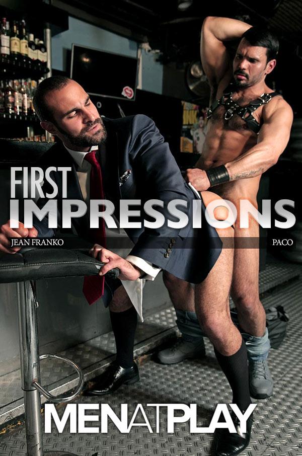 First Impressions (Jean Franco Fucks Paco) on MenAtPlay
