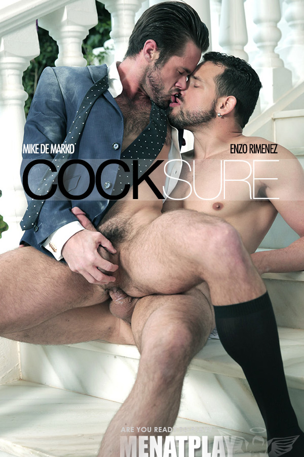 Cocksure (Enzo Rimenez Fucks Mike de Marko) on MenAtPlay
