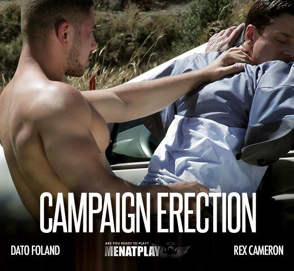 Campaign Erection (Dato Foland Fucks Rex Cameron) on MenAtPlay