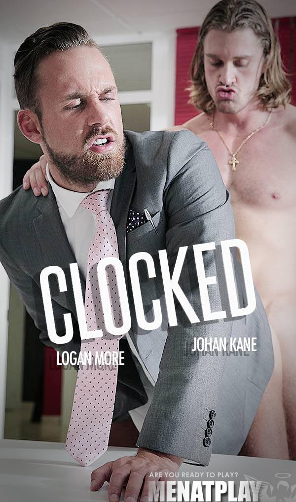 Clocked (Johan Kane Fucks Logan More) on MenAtPlay
