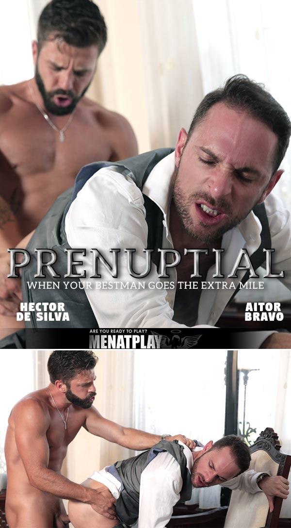 Prenuptial (Hector De Silva Fucks Aitor Bravo) on MenAtPlay