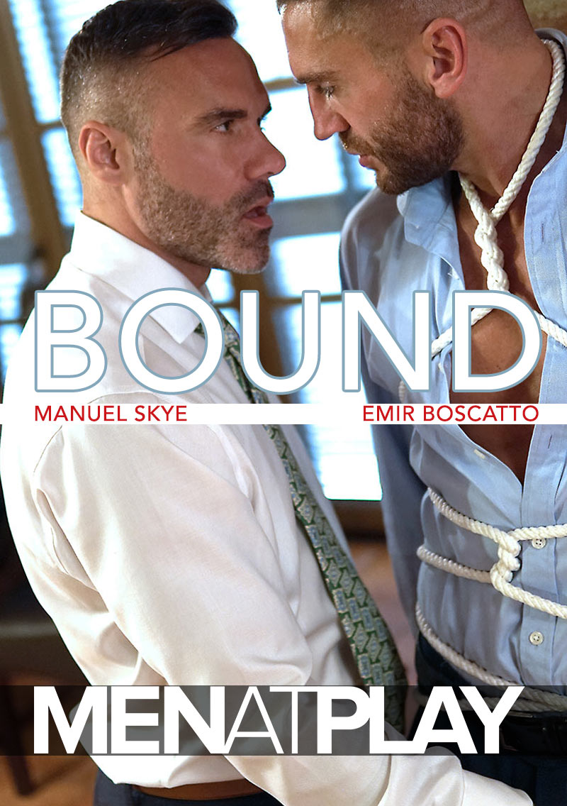BOUND (starring Manuel Skye Fucks Emir Boscatto) on MenAtPlay