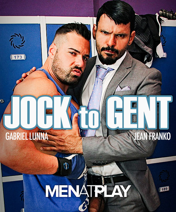 Jock To Gent (Jean Franko Fucks Gabriel Lunna) on MenAtPlay