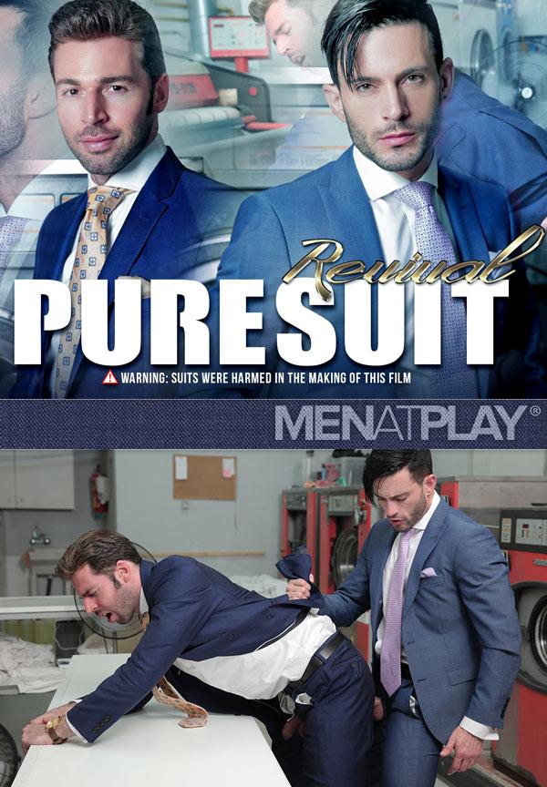 Pure Suit Revival (Andy Star Fucks Dario Beck) on MenAtPlay