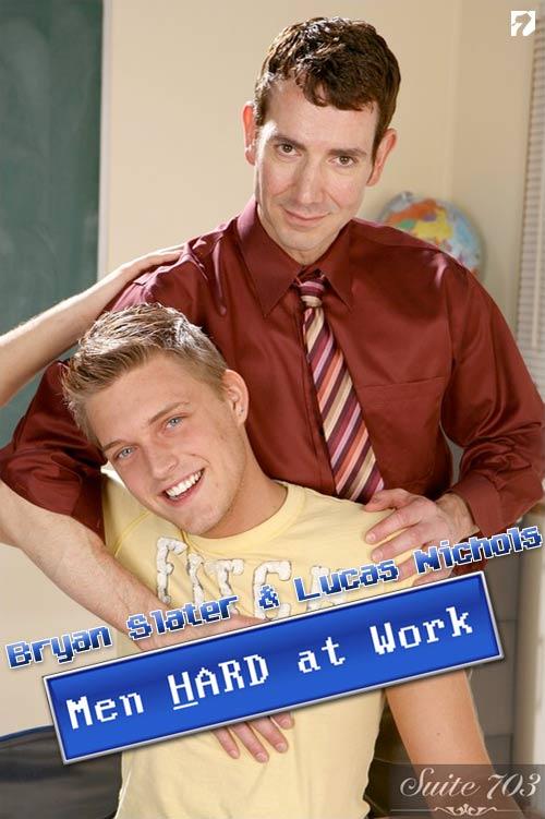 Bryan Slater & Lucas Nichols at MenHardAtWork
