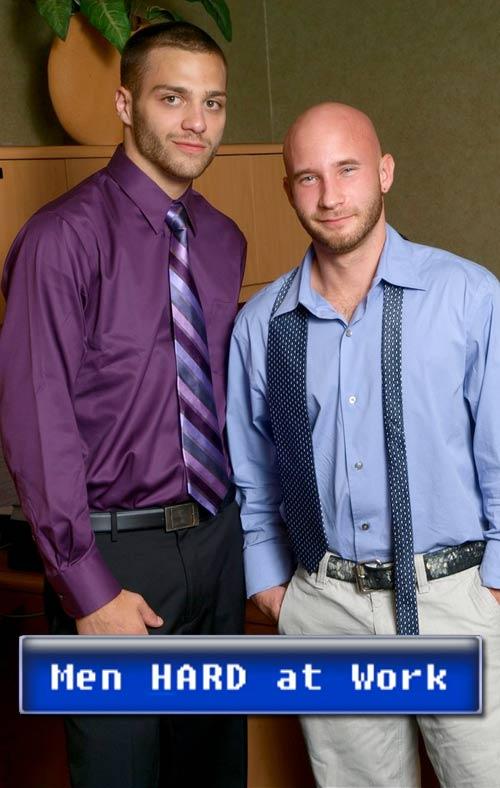 Drake Jayden & Tommy Defendi at MenHardAtWork